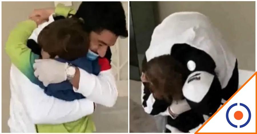 #Covid19: Se hace viral reencuentro de Luis Suárez con sus hijos… tardó un mes