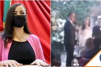 #WTF: Alcaldesa de Morena en Naucalpan arma mega boda… Les vale la gente