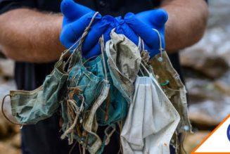 #WTF: 6 mil toneladas de cubrebocas están en el mar… Somos una plaga