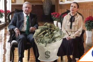 #WTF: Gutiérrez Müller sale con blusa de 38 mil pesos… La revientan en redes