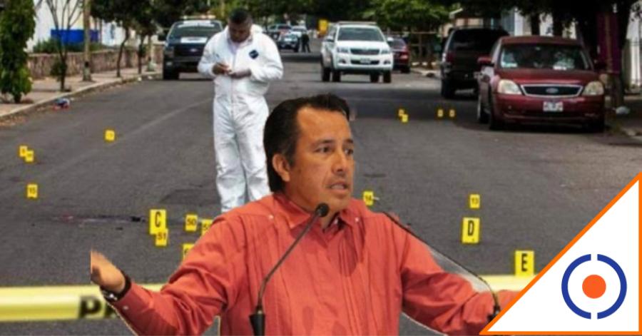 #Terror: Veracruz se desangra, 13 ejecuciones y el gober morenista ni sus luces