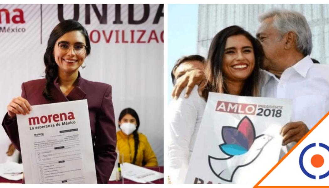 #Influyentismo: De escolta de Obrador al SAT y ahora a candidata de Morena por SLP