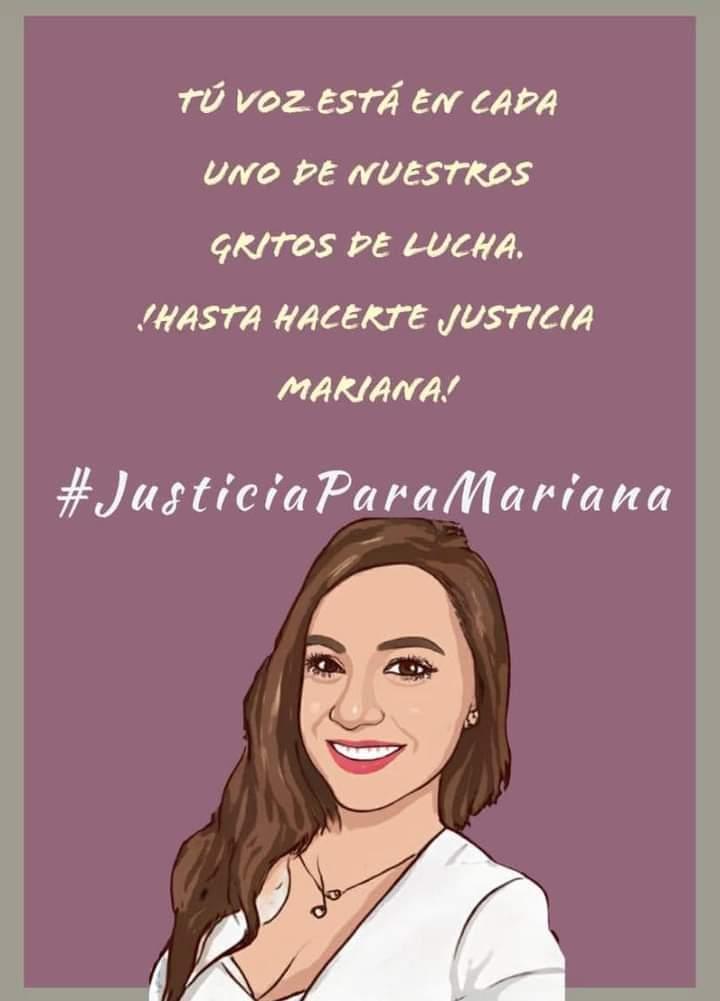 #JusticiaParaMariana explota en redes exigiendo se investigue el caso como feminicidio