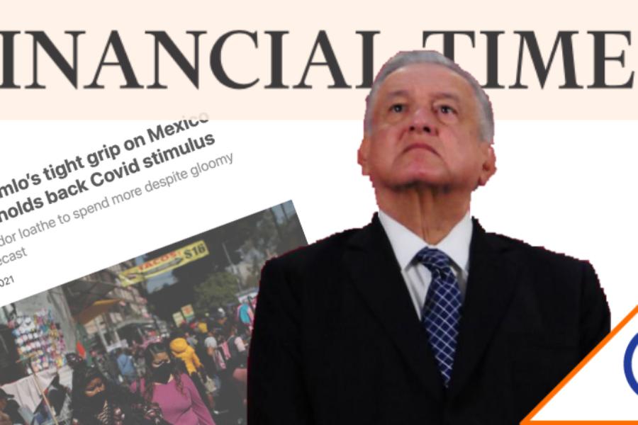 #Moodys: México, penúltimo lugar mundial en apoyos fiscales… apenas el 1.1%