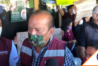 #Elecciones: Morenistas protestan por alianza con Partido Verde en Quintana Roo