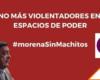 #MorenaSinMachitos: Cien diputadas exigen se retire a Félix Salgado candidatura