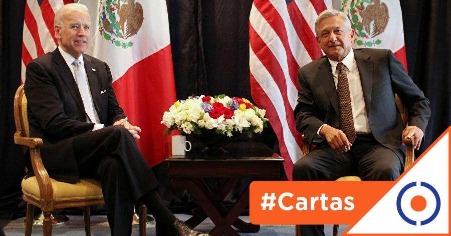 #CartasDeUnCiudadano: Joe Biden, nueva oportunidad para la relación México-EE.UU.