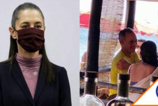 #HayTiro: Sheinbaum se lanzó contra López-Gatell por irse de vacaciones