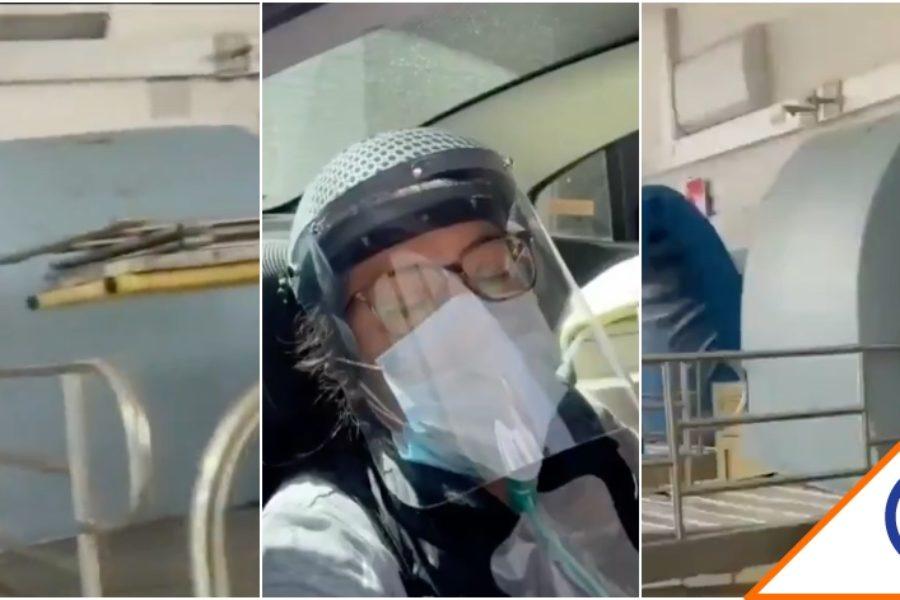 #CDMX: Gobierno esconde 100 camas y niega atención a personas con Covid-19