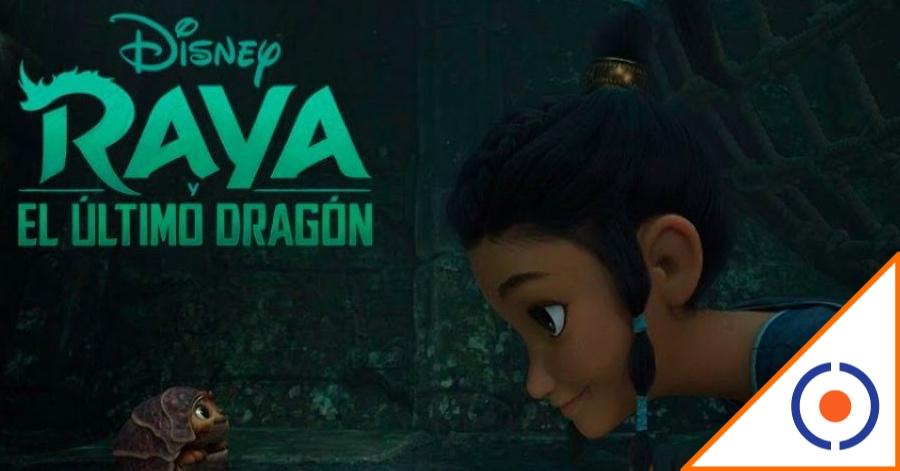 #Viral: Disney presentó el trailer de Raya y el último dragón