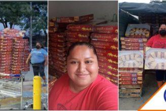 #LadyRosca: Mujer compra 300 roscas y las vende todas… Tremenda emprendedora