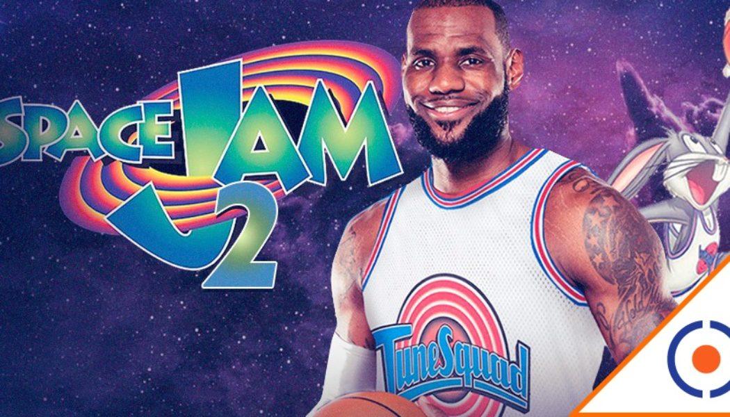 #Wow: LeBron James nos emociona con video de Space Jam… ¡Ya falta menos!