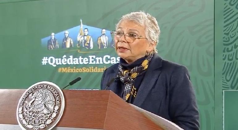 Evade Sánchez Cordero comentar sobre las declaraciones del Rector de la UNAM