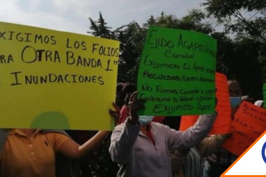 #LoQueFaltaba: Lanzan la Guardia Nacional contra damnificados de Tabasco