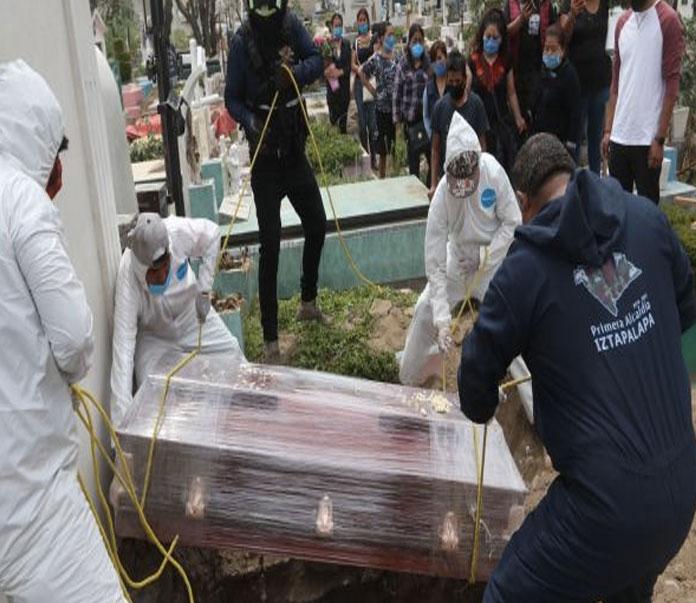 México Supera las 165 mil muertes por COVID-19