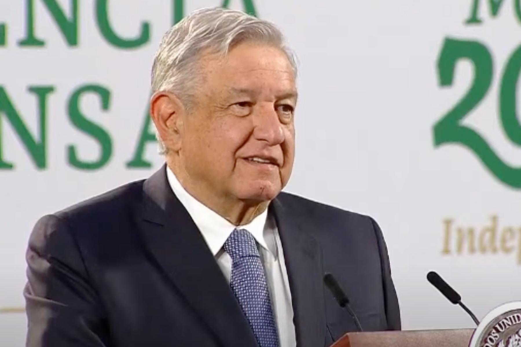 AMLO advierte a migrantes de los peligros de pasar por México