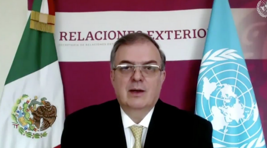 Gobierno de México pidió a la ONU cesar el acaparamiento de vacunas contra COVID-19