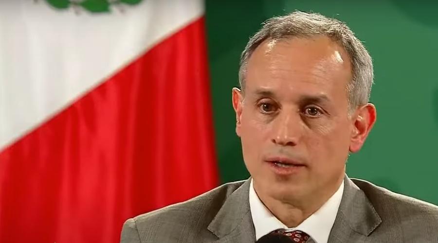 Hugo López-Gatell no está grave y oxigena a 97 por ciento aclara SSA