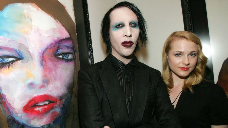 La actriz Evan Rachel Wood denuncia como abusador al cantante Marilyn Manson