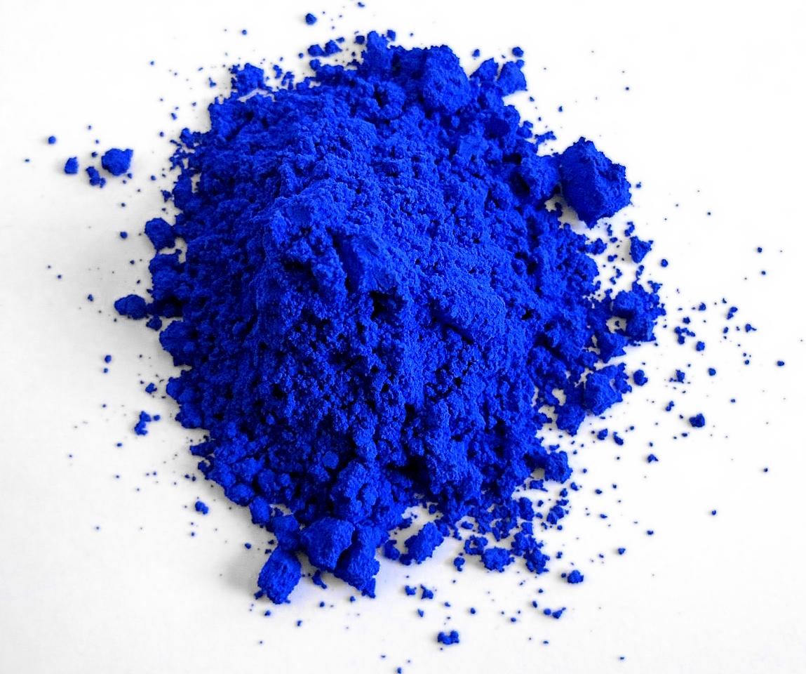 Conoce al YInMN o Azul Yin Min un color que tardó 200 años en ser descubierto.