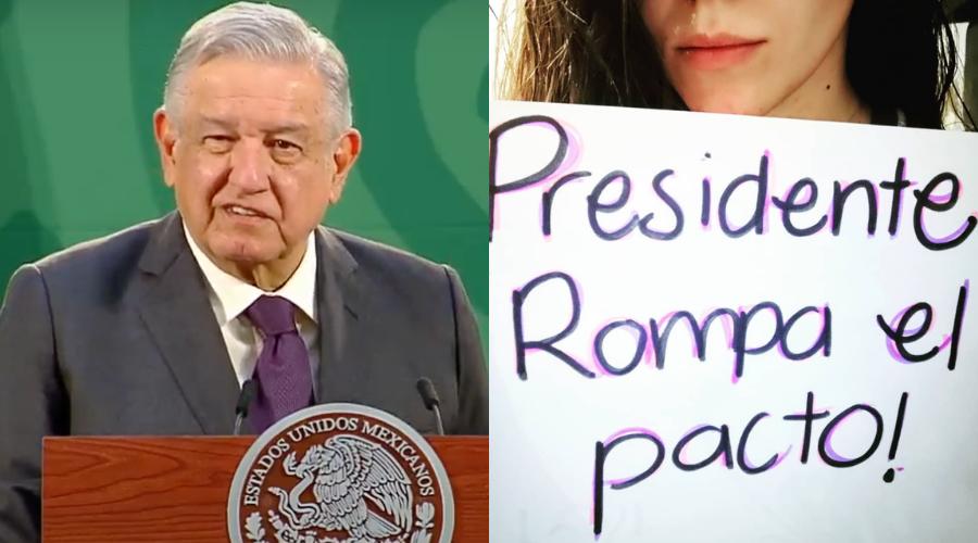 """""""Ya chole"""": AMLO responde a mujeres sobre caso Félix Salgado"""