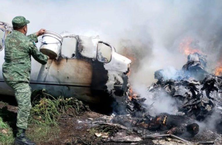 Confirma SEDENA accidente de avioneta en Veracruz; mueren 6 elementos