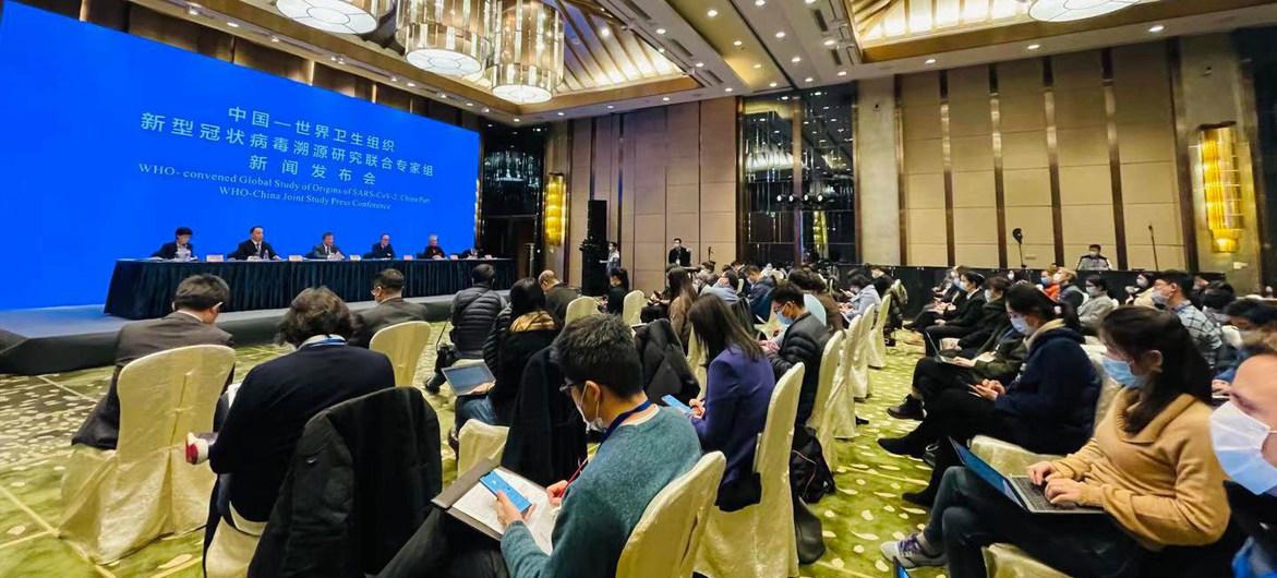 La OMS reveló sus primeras conclusiones sobre el origen del SARS-CoV-2 en Wuhan, China.