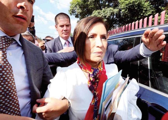 FGR rechaza criterio de oportunidad para Rosario Robles
