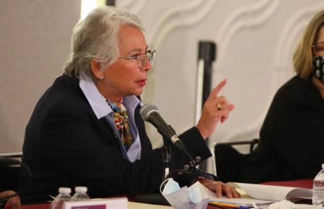 Nadie que tenga temas de violencia debería ser postulado: Sánchez Cordero
