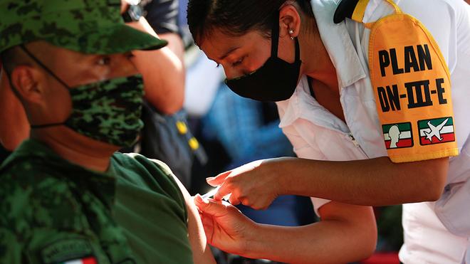 El 99.40 por ciento de la población en México, no ha recibido vacuna contra la COVID-19