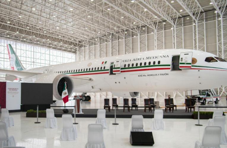 Anuncia gobierno de AMLO nueva subasta de aeronaves; Avión presidencial interesa a 3 compradores