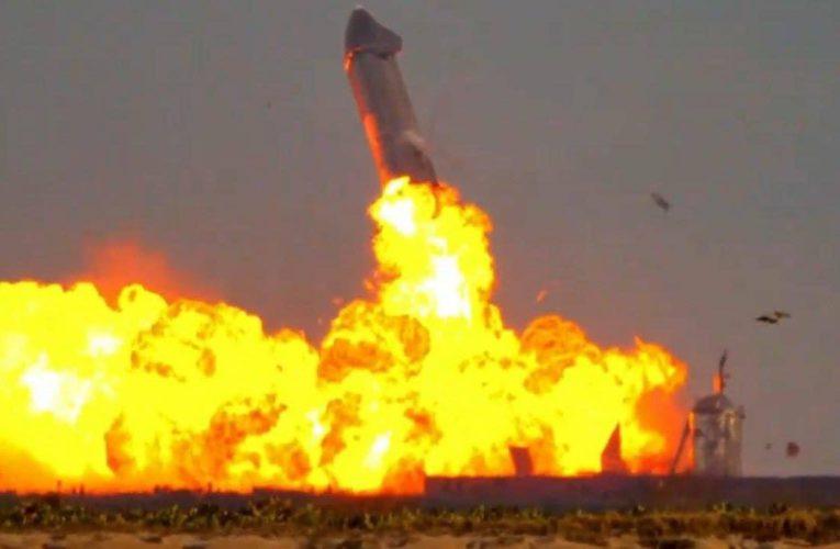 La Starship SN10 de SpaceX y NASA aterrizó con éxito aunque explotó tras unos minutos de estar en la plataforma