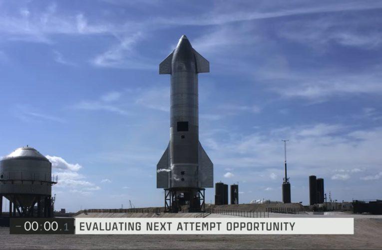 La Starship SN10 de SpaceX y NASA abortó en el último momento de su lanzamiento