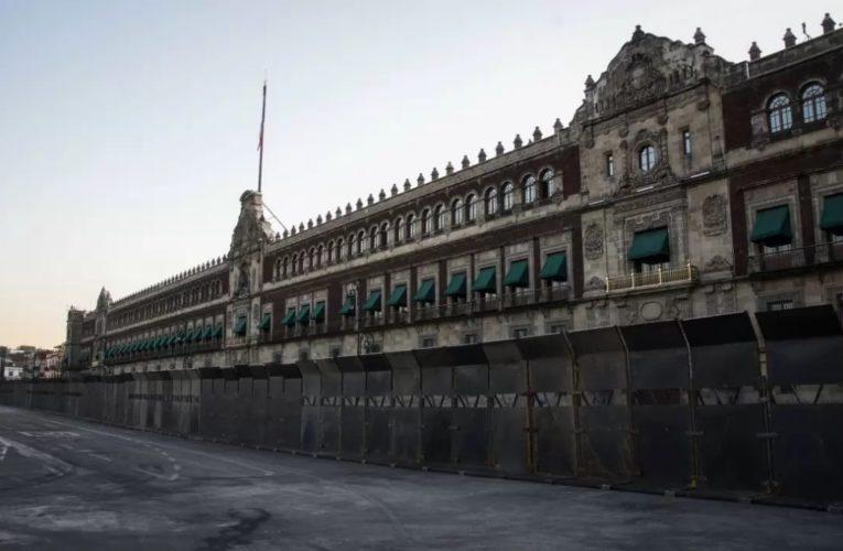 Blindan Palacio Nacional ¿Tanto miedo le tienen a las mujeres?