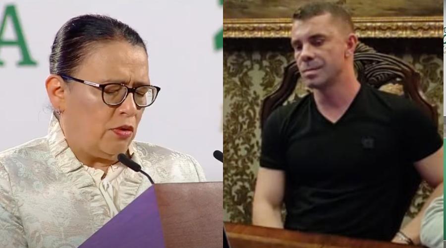 Rosa Icela Rodríguez justifica reunión con Florian Tudor