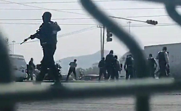 Protesta en Tecámac fue disuelta a balazos